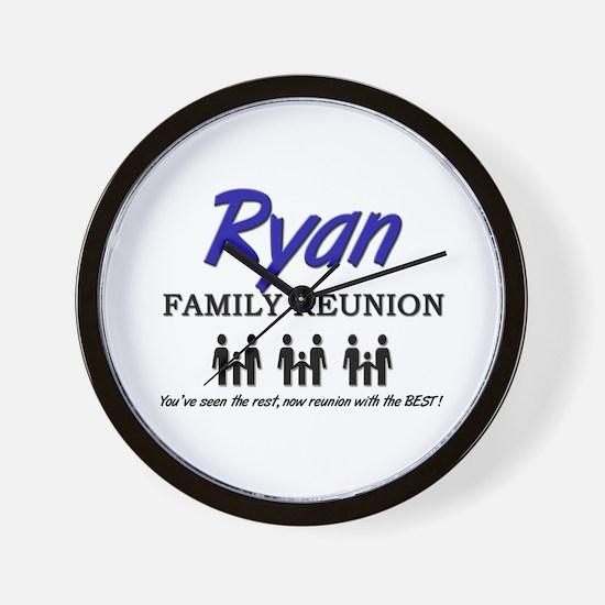 Ryan Family Reunion Wall Clock