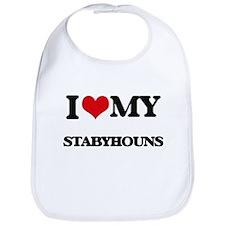 I love my Stabyhouns Bib