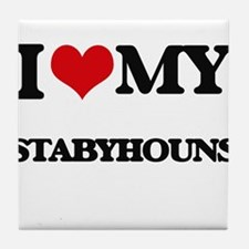 I love my Stabyhouns Tile Coaster