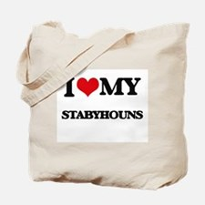 I love my Stabyhouns Tote Bag
