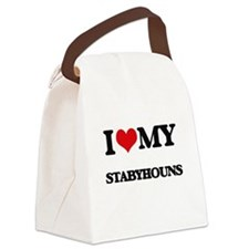 I love my Stabyhouns Canvas Lunch Bag