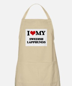I love my Swedish Lapphunds Apron