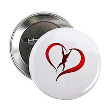 "Orangutan Heart 2.25"" Button"