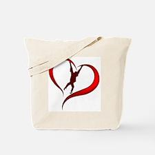 Orangutan Heart Tote Bag