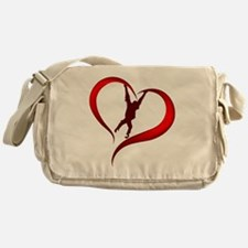 Orangutan Heart Messenger Bag