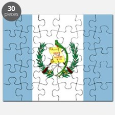 Guatemalan flag Puzzle