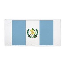 Guatemalan flag Beach Towel