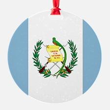Guatemalan flag Ornament