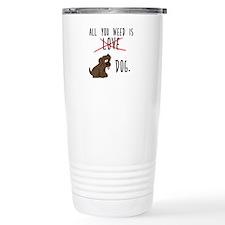 All You Need is Dog Travel Mug