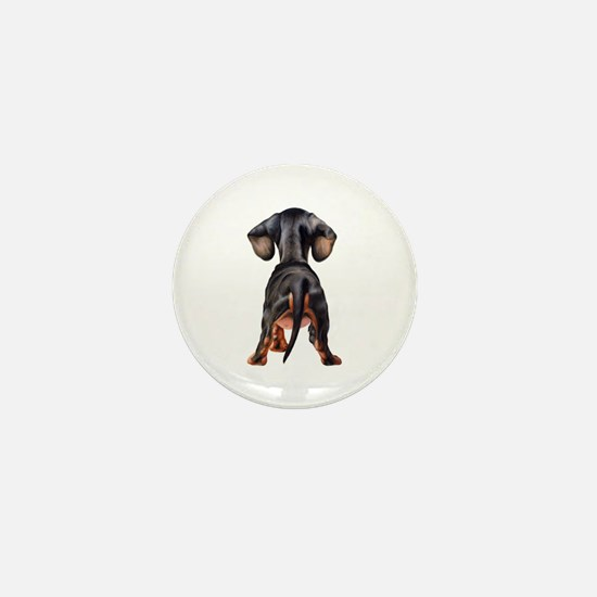 Dachshund Puppy Mini Button
