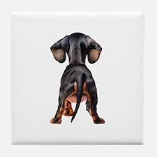 Dachshund Puppy Tile Coaster