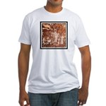 ANCIENT ASTRONAUTS Fitted T-Shirt
