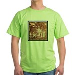 ANCIENT ASTRONAUTS Green T-Shirt