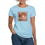 ANCIENT ASTRONAUTS Women's Pink T-Shirt