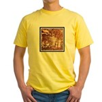 ANCIENT ASTRONAUTS Yellow T-Shirt