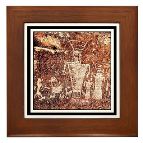 ANCIENT ASTRONAUTS Framed Tile