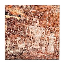 ANCIENT ASTRONAUTS Tile Coaster