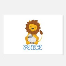 LION AND LAMB PEACE Postcards (Package of 8)