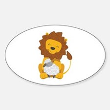 LION AND LAMB Decal