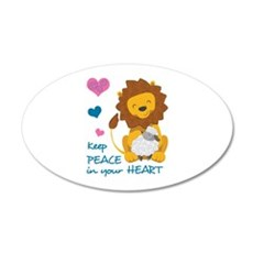 PEACE IN YOUR HEART Wall Decal
