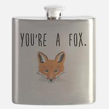 Cute fox Flask