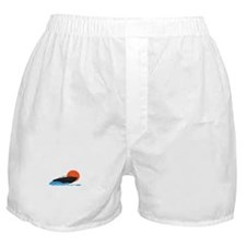BOAT ON WATER Boxer Shorts