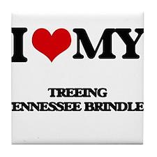 I love my Treeing Tennessee Brindles Tile Coaster