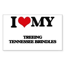 I love my Treeing Tennessee Brindles Decal
