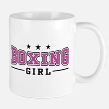 Boxing Girl Mug
