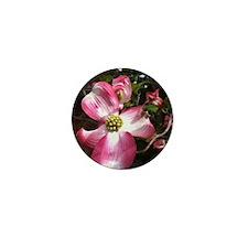 Dogwood Blossom Mini Button