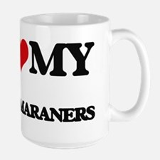 I love my Weimaraners Mugs