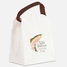 WILD SALMON Canvas Lunch Bag