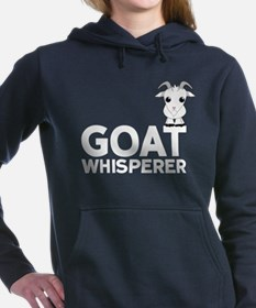 Goat Whisperer Women's Hooded Sweatshirt