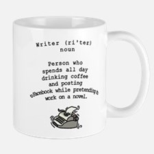 Mug that Explains What Writers Do All Day
