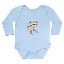 SALMON RIVER FISHING Body Suit