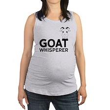 Goat Whisperer Maternity Tank Top