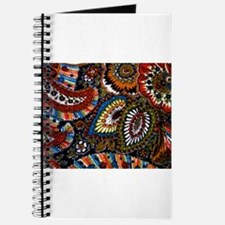 boho vintage paisley print Journal