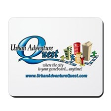 UAQ Logo tag line no shadow Mousepad