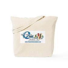 UAQ Logo tag line no shadow Tote Bag