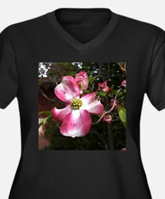 Dogwood Blossom Plus Size T-Shirt
