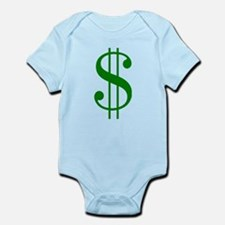 $ green dollar sign Body Suit