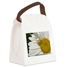 Goldenrod Crab Spider On Daisy Canvas Lunch Bag