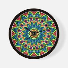Fractalworks Mandala Wall Clock
