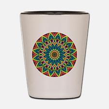 Fractalworks Mandala Shot Glass
