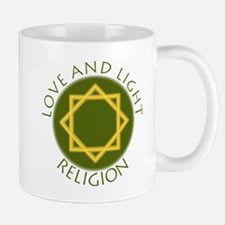 Love and Light Religion 2 Mugs