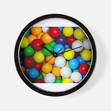 gumballs candy Wall Clock