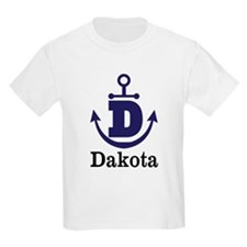 Personalized Anchor Monogram D T-Shirt
