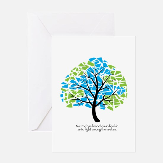 Peace Tree - Greeting Cards