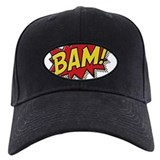 Bam Baseball Cap with Patch