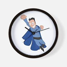 funny super hero Wall Clock